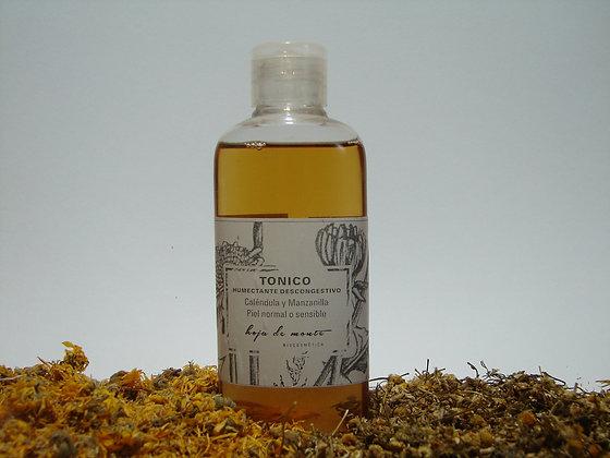 Tónico Humectante descongestivo piel sensible - Calendula & Manzanilla