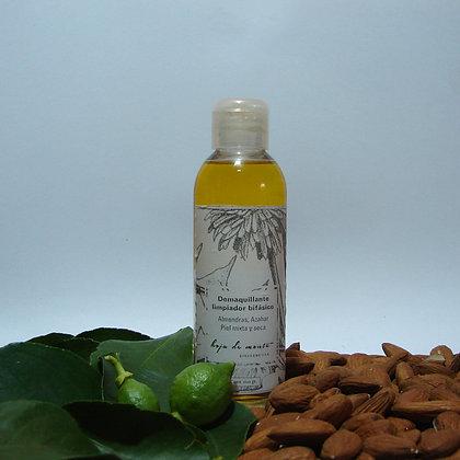 Demaquillante Bifásico piel normal a seca. Almendras & Azahar