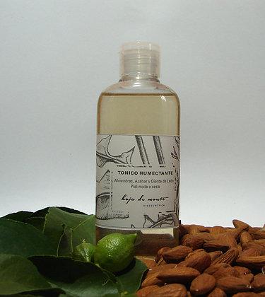 Tónico Humectante  piel normal a seca - Almendras & Azahar