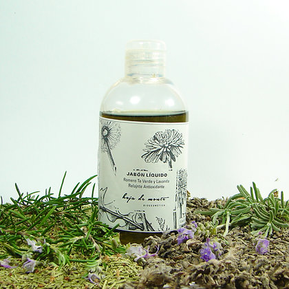 Jabón líquido humectante antioxidante