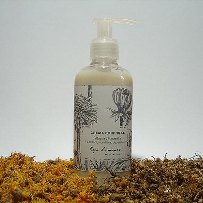 Crema corporal piel sensible. Calendula & Manzanilla,Lavanda Trigo