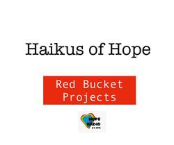 Haikus of Hope