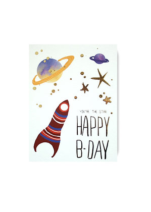 Happy Birthday - Out of Space