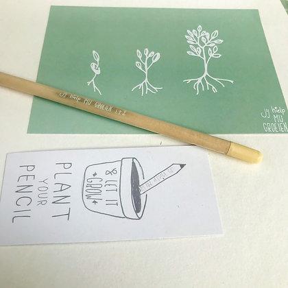Pakketje 'Jij hielp me groeien!'
