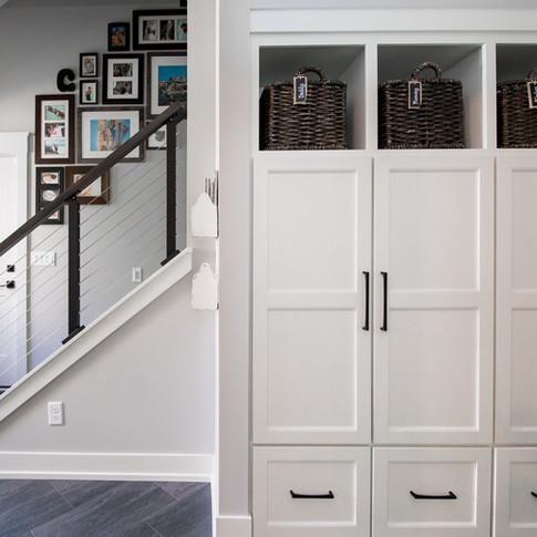 Mudroom & Bonus Staircase