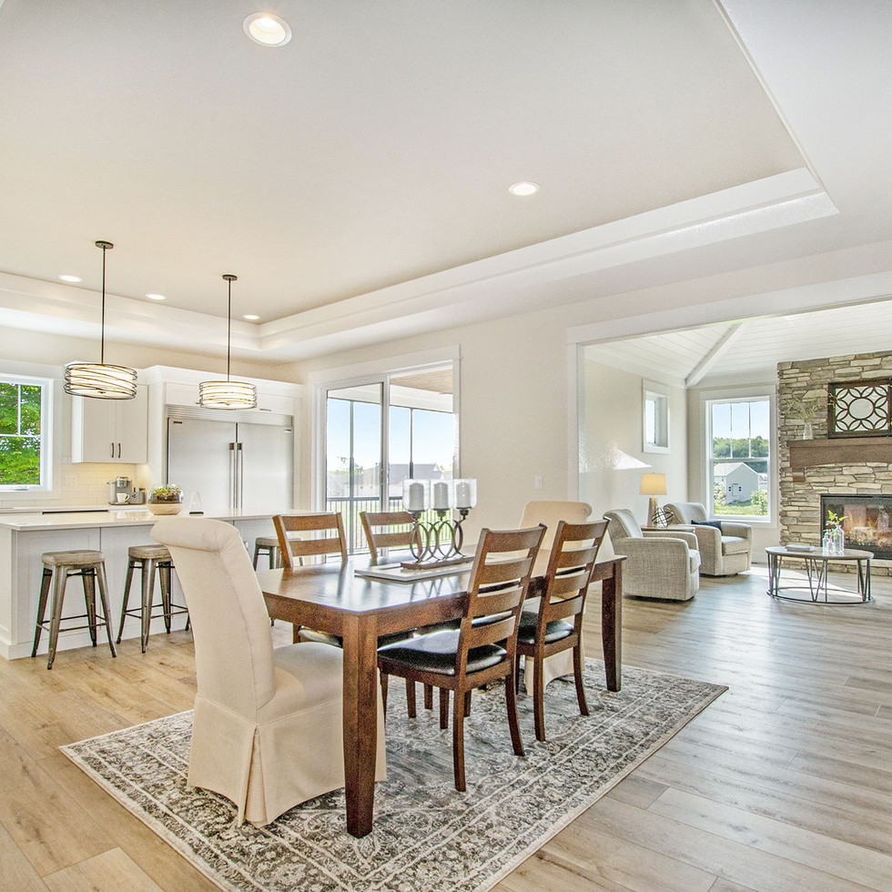 Stand Alone Condo Kitchen Dining Living