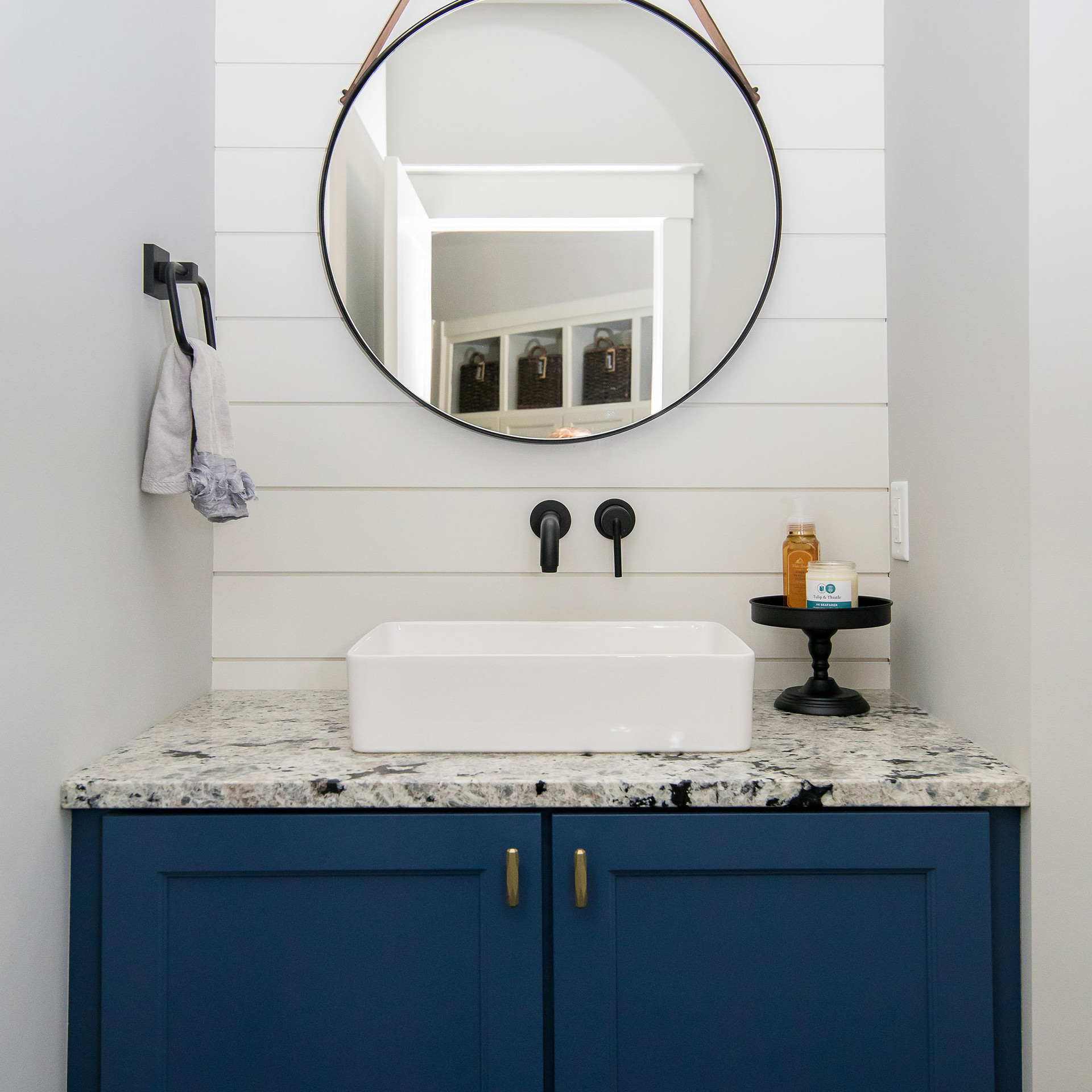 Powder Room Half Bath