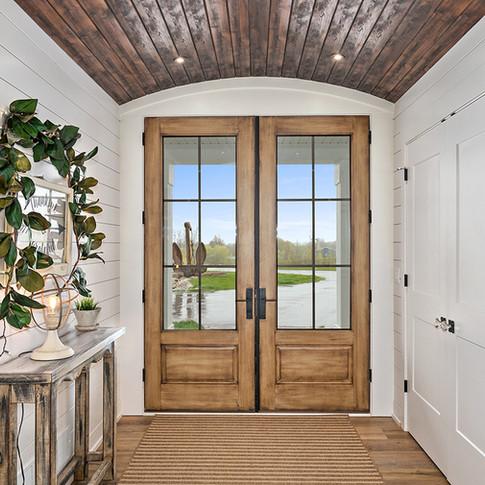 Jamestown Modern Farmhouse Front Door