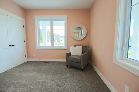 Pink Spare Bedroom