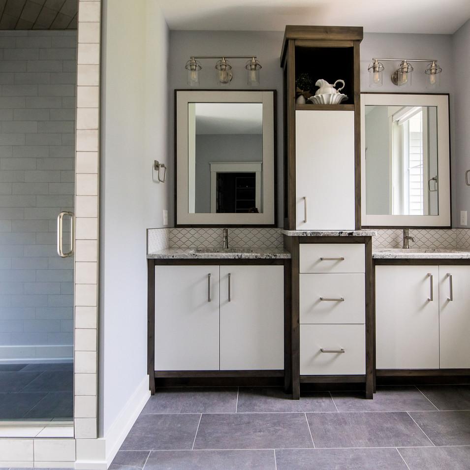 Master Bath Custom Cabinets