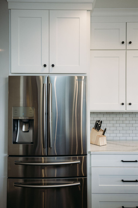 Simple, Clean Shaker Cabinets