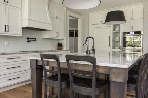 White Kitchen Custom Cabinetry