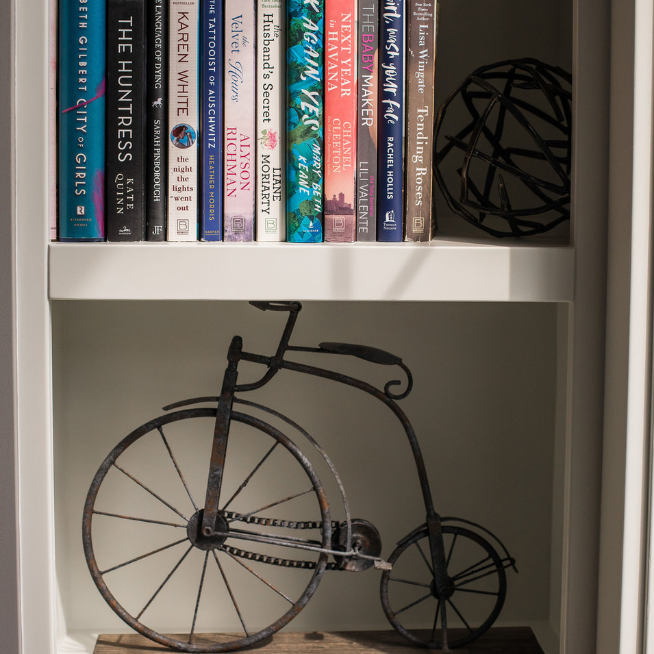 Office Bookshelf Niche