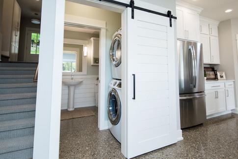 Half Bath Laundry Nook