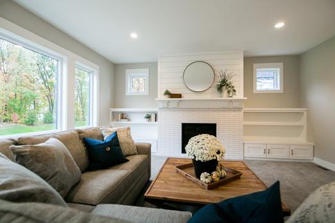 Living Room Modern Farmhouse