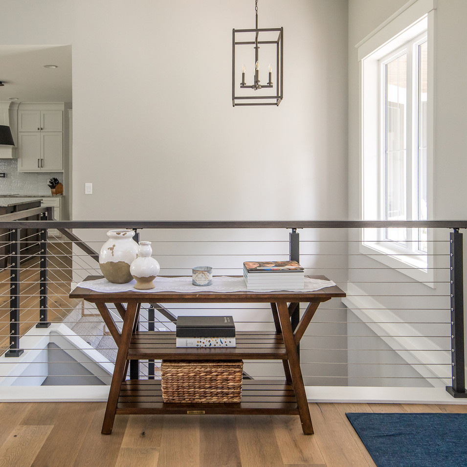 Cable Railing Staircase