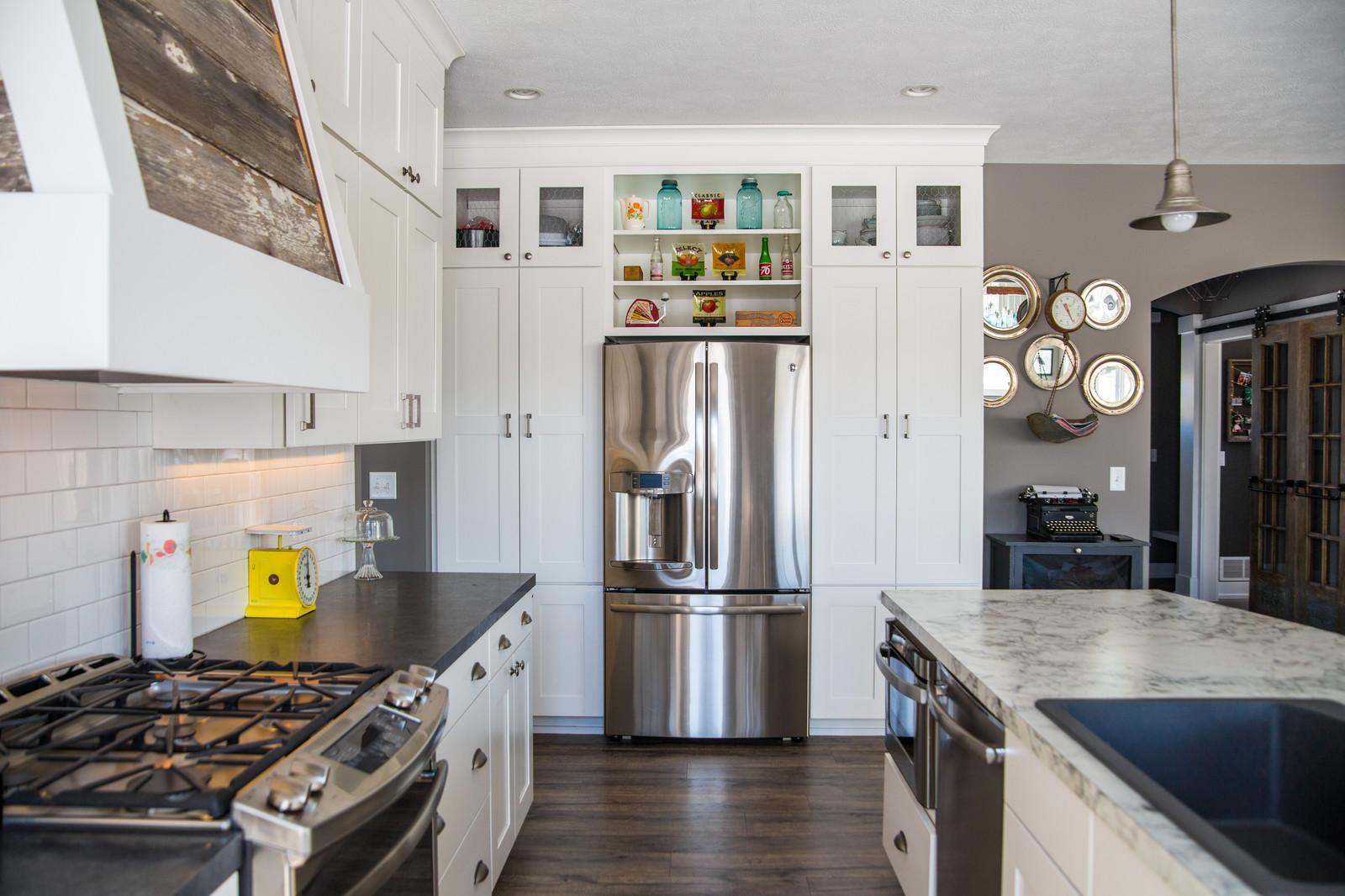 Farmhouse Kitchen | DK Homes | Custom Home Builder | Byron Center, MI