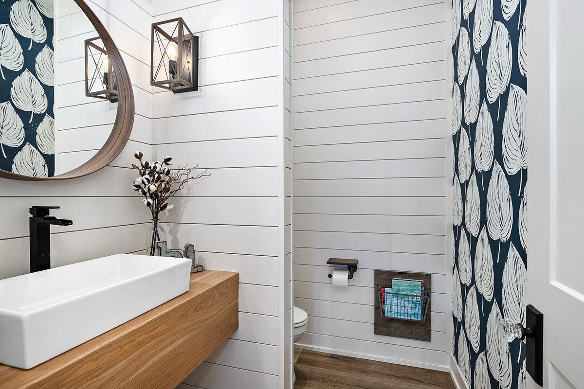 Jamestown Modern Farmhouse Half Bath