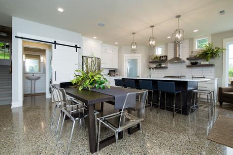 Open Kitchen Dining Main Floor
