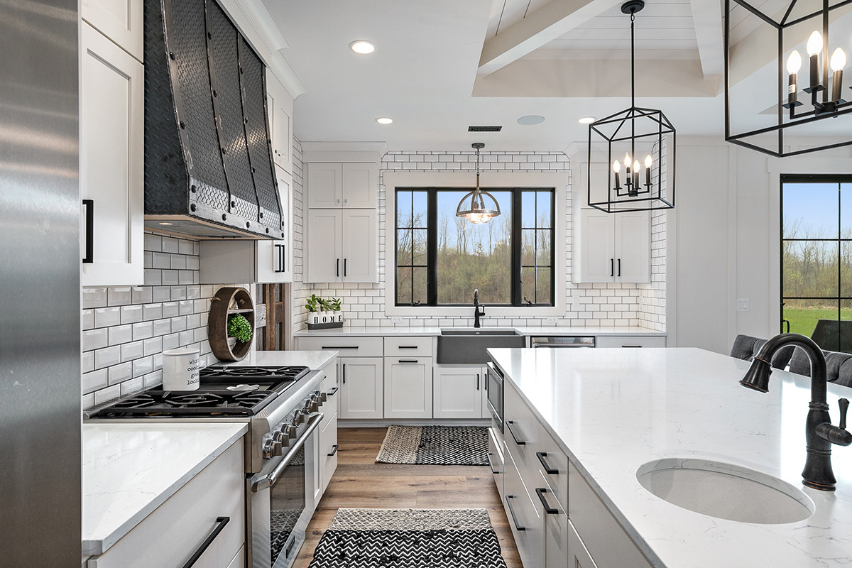 Jamestown Modern Farmhouse Kitchen