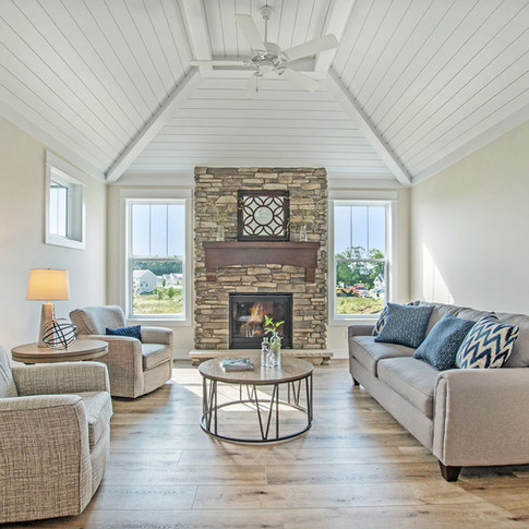 Stand Alone Condo Fireplace Room