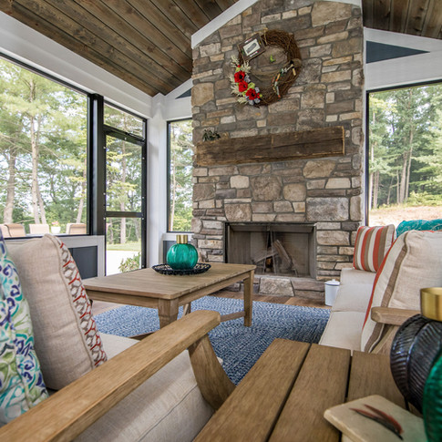 Outdoor Living Screened Porch