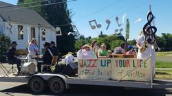 Annual church float for Carlton Fun Days.