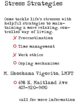 stressstrategies