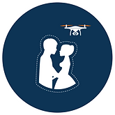 Aerial Wedding Photography & Videography | Scottish Borders | Borders Aerial Photography
