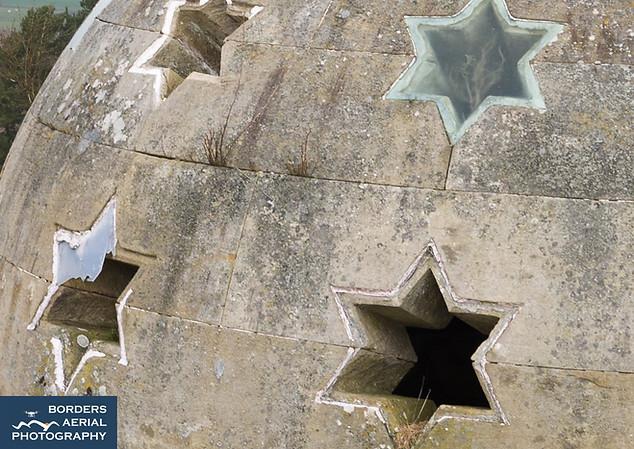 Monteath Mausoleum aerial roof inspection, Scottish Borders