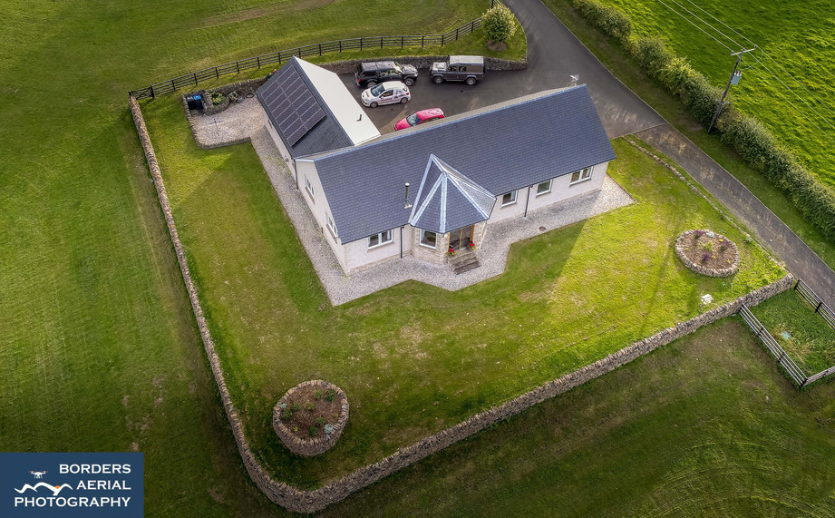 Aerial photography for Estate Agency