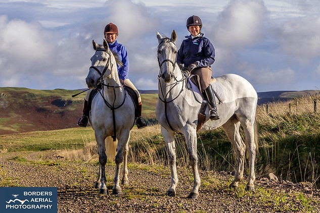 On loction with Ride Scottish Borders (equestrian tourism)