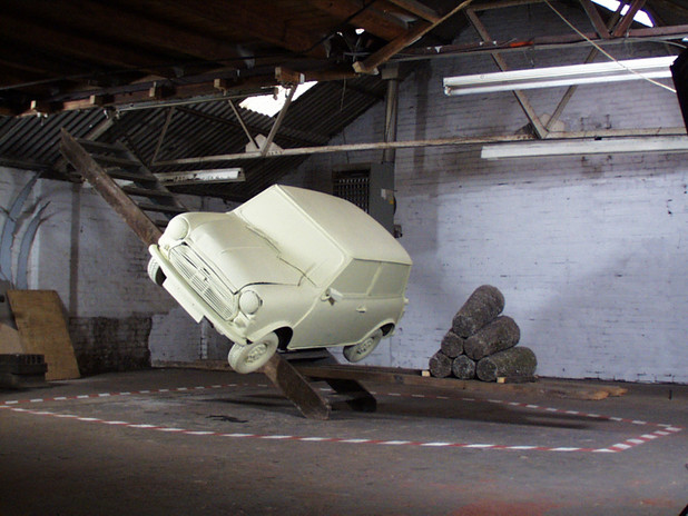 sculpture for a virtual environment #II 2000