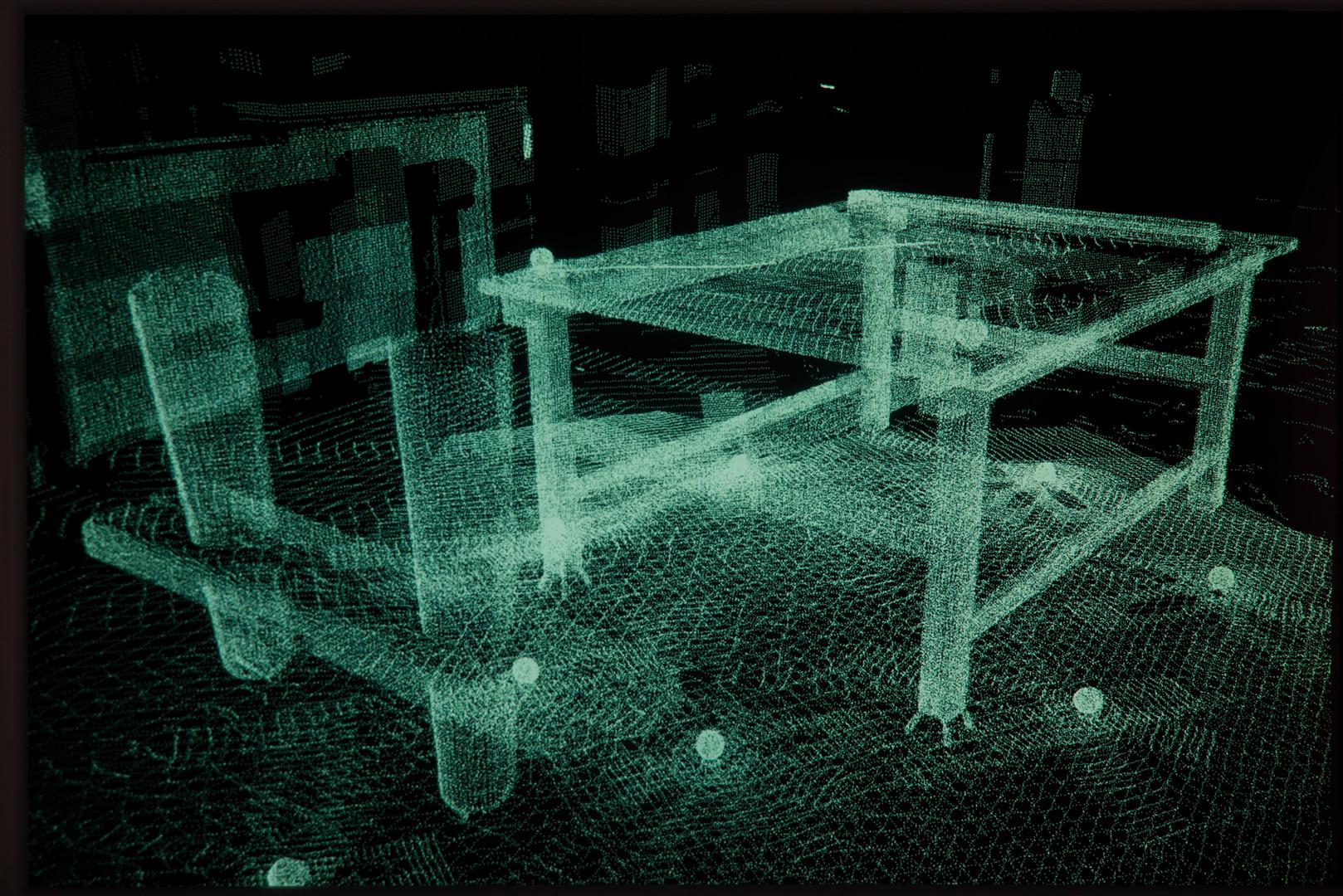 Sculpture for a Virtual Environemtn #1 2000