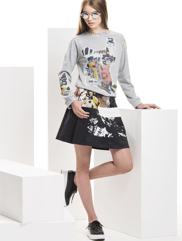 deuxa ss16 sweater Falina skirt Sally