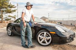 JOHNNY DEPP IMPERSONATOR Porsche