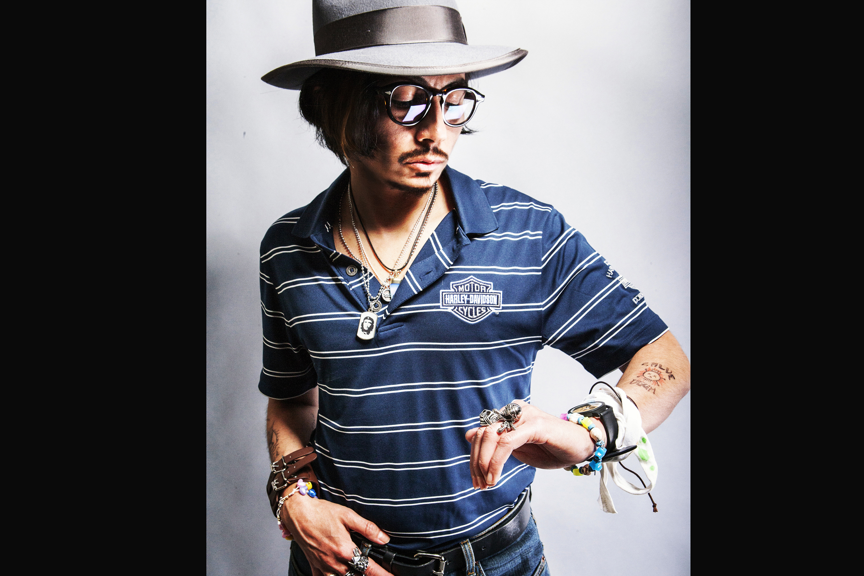 Johnny Depp Impersonator