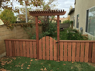 Backyard Fence / Gate