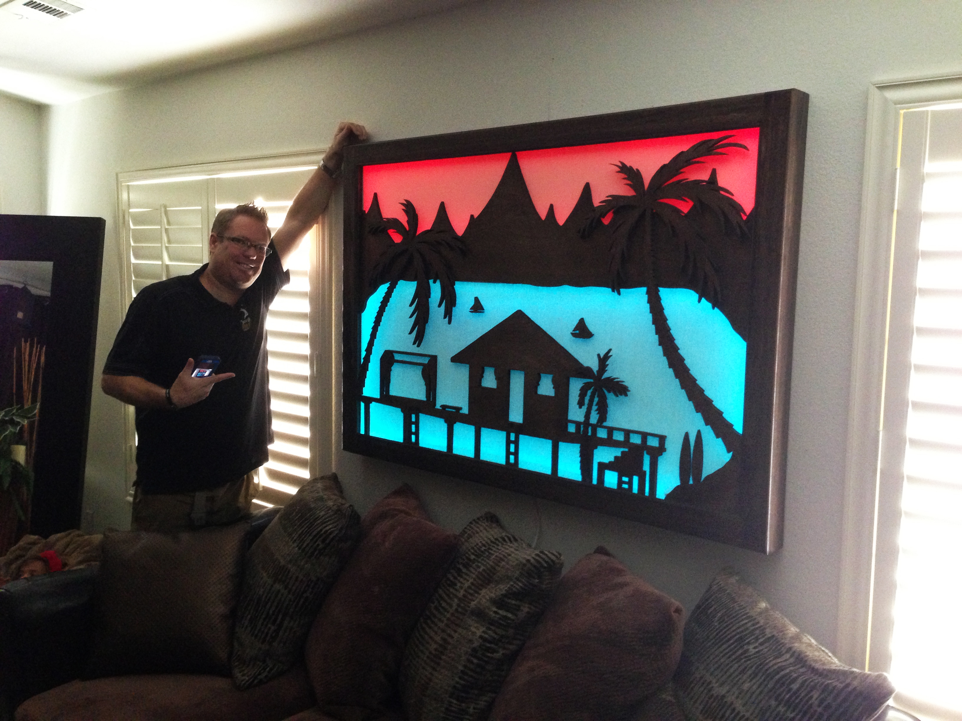 Bungalow silhouette