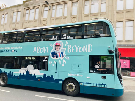 Bowler Roy becomes a bus!