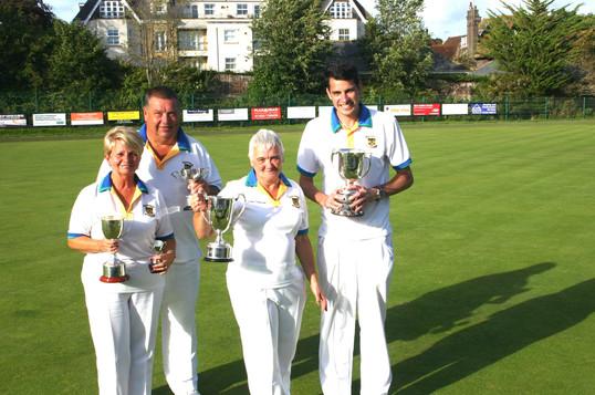 Four club champions