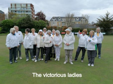 Victorious ladies