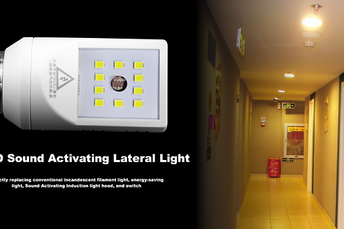 LED Sound Activating Lateral Light