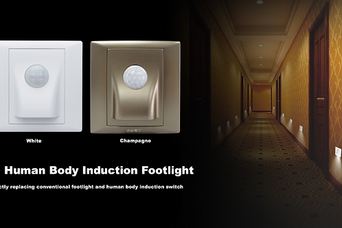 LED Human Body Induction Footlight