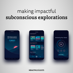 Psychedelic experience with an app
