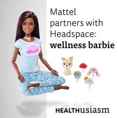 Barbie as a meditation guru