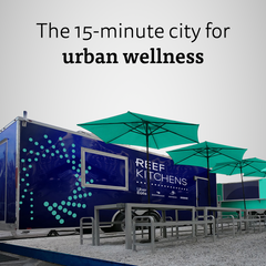 The 15-minute city for urban wellness