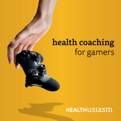 Health coaching for gamers