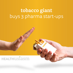 Tobacco giant turns into a health business