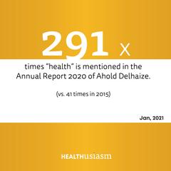 Retailers go health